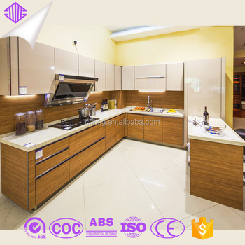 Hot Selling High End Stylish Unique Kitchen Cabinet Design Made In China  Furniture Town Foshan Factory