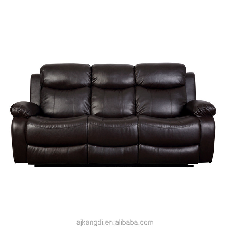 Bonded Leather Recliner Sofa Set