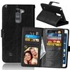 PU Leather + PC Wallet Protective Case for LG Stylus 2 Plus