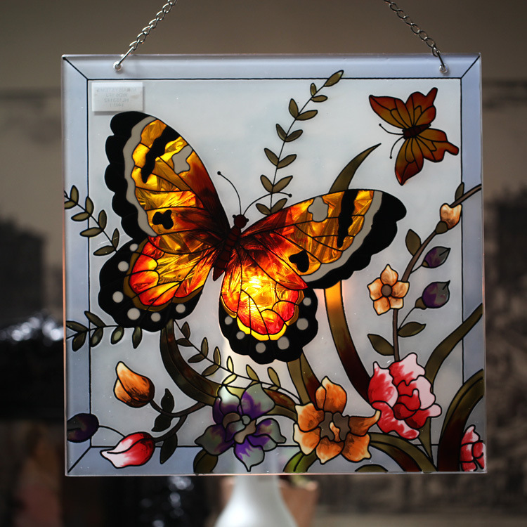 Butterfly designs for glass painting - photo#33
