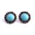 Fashion New Design Turquoise Diamond Stud Earrings Wholesale Women Earring