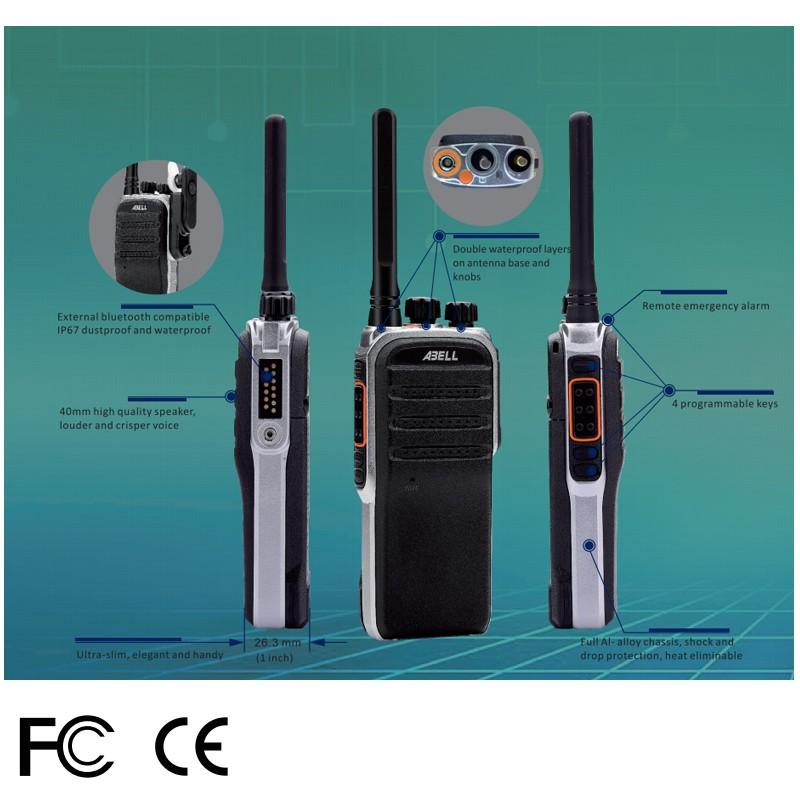 Police DMR Digital Analog IP67 handheld two way radios - ANKUX COM
