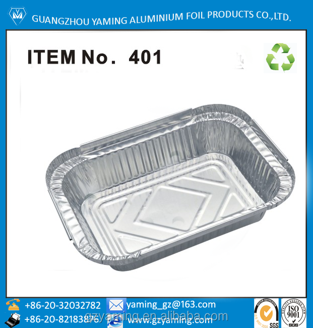 packaging boxes kitchen use aluminium foil restaurant take away food serving container