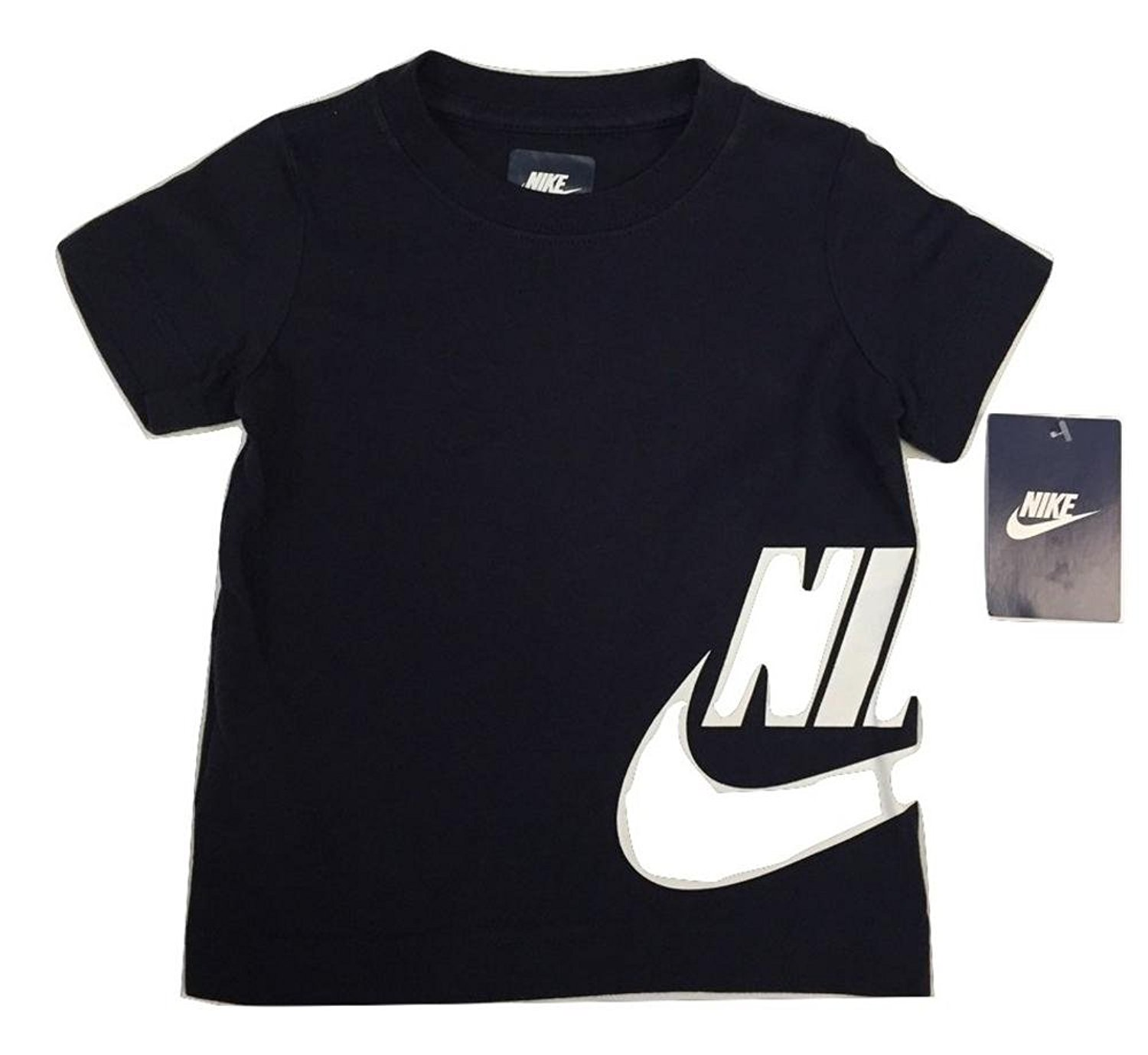 1e8a2263 Get Quotations · Nike Toddler Boys Athletic Dri-Fit Tee Shirt- Obsidian
