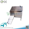YSVET-CX130 best quality veterinary clinic stainless steel dog bathtub