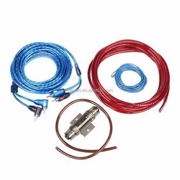 Best Quality Rca Cable For Car Stereos Car Audio Amplifier Cable Kit - Buy  Car Audio Amplifier Cable Kit,Rca Cable For Car Stereos Car Audio Amplifier