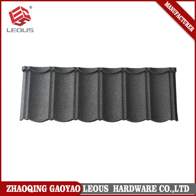 Durable aluminum zinc shingles roof tile
