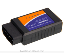 WIFI <span class=keywords><strong>ELM327</strong></span> OBD2 Scanner Wireless Adapter Auto Scan Tool per Smartphone