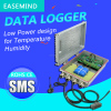 Low Power design data logger gsm module rs232 for gprs Temperature Humidity