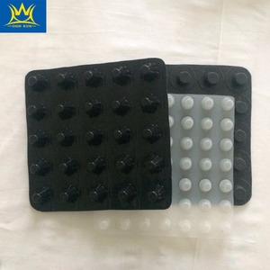 China landscape drainage board 20mm dimple plastic drain board/dimple for garage projet and roof project
