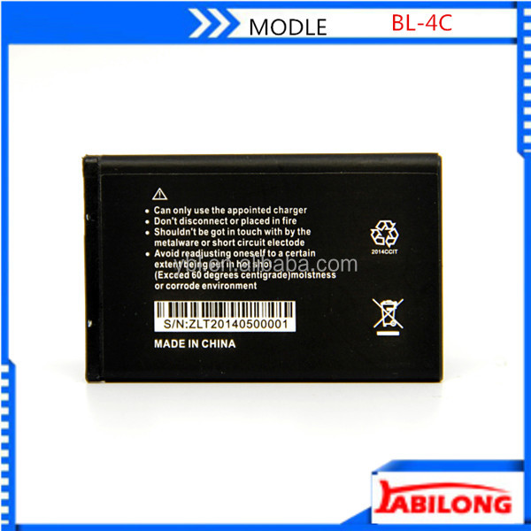 850mah bl-4c li-ion battery for nokia Cellular 3500 Classic 6066 6088 6100 6101 6102i 6103