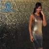 Sublimation Wholesale Custom-made Mermaid Gold Stretch Gradient Sequin Fabric