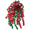 christmas curly ribbon bow with fashion colors