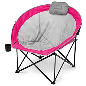 Ozark Trail Oversized Cozy Camp Chair with Steel Frame