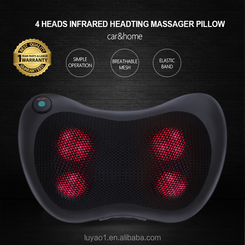 back massage pillow wireless massager cordless shiatsu
