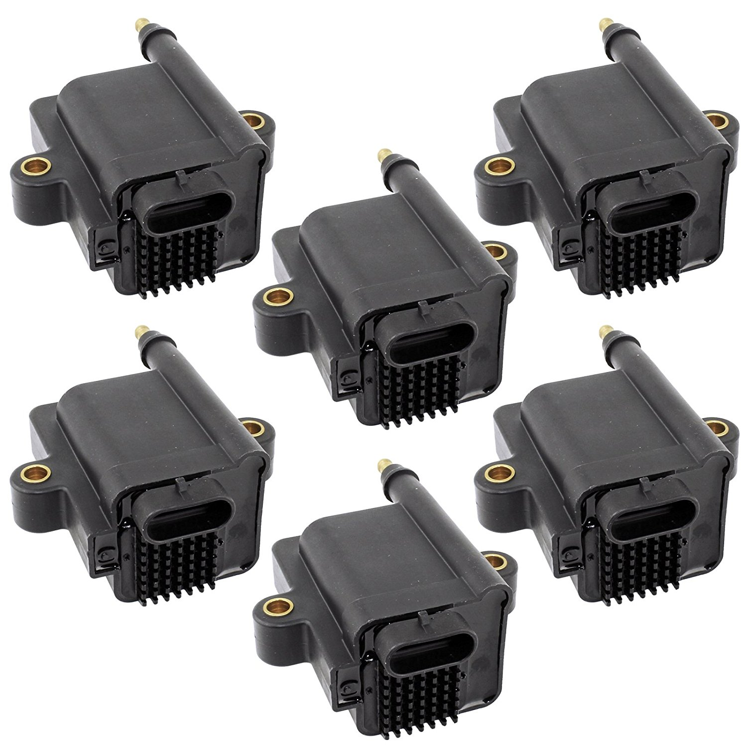 CALTRIC 6-PACK IGNITION COILS Fits MERCURY OUTBOARD 250 250HP XL CXL XXL CXXL 2007 2008