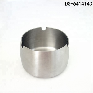 Stainless Steel Concave Shape Ashtray Cigarette Smoking Stand