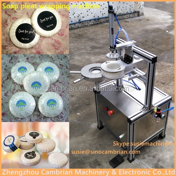soap pleat wrapping machine (2)
