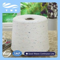 neps cotton blended polyester yarn for t-shirt