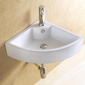 Hs 5402 Kleines Bad Becken Wand/Waschbecken Dreieck/sanitär Keramik Wand  Waschtisch