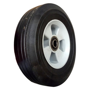 Best price small solid rubber wheel for tool cart