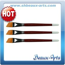 watercolor artists Golden synthetic angular painting brush