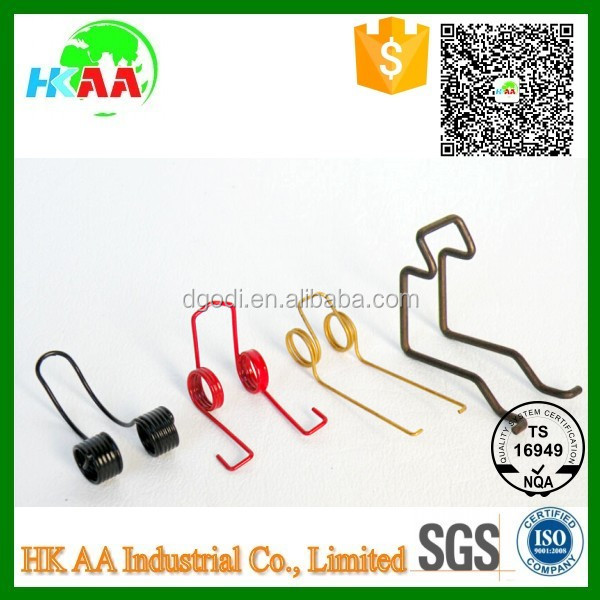 OEM color electrical wire forming clips, electrical wire form spring clips
