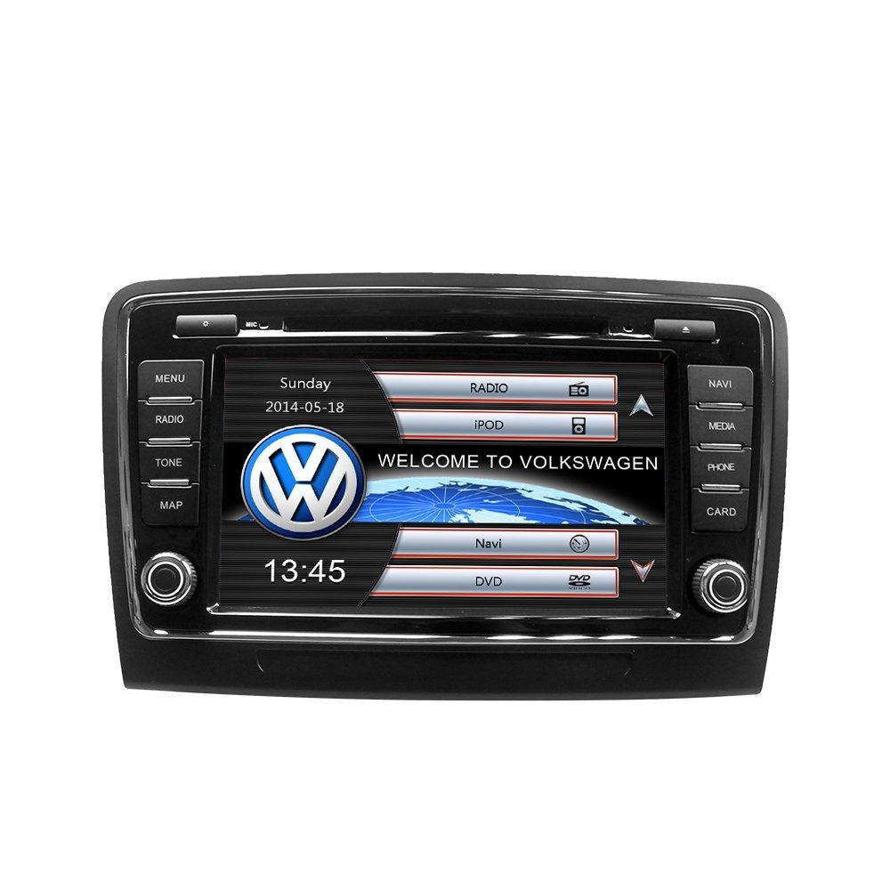 Get Quotations · ZNYSTAR Skoda Superb 2009-2012 Car Multimedia Stereo Navigation  System Car GPS Navigation touch screen