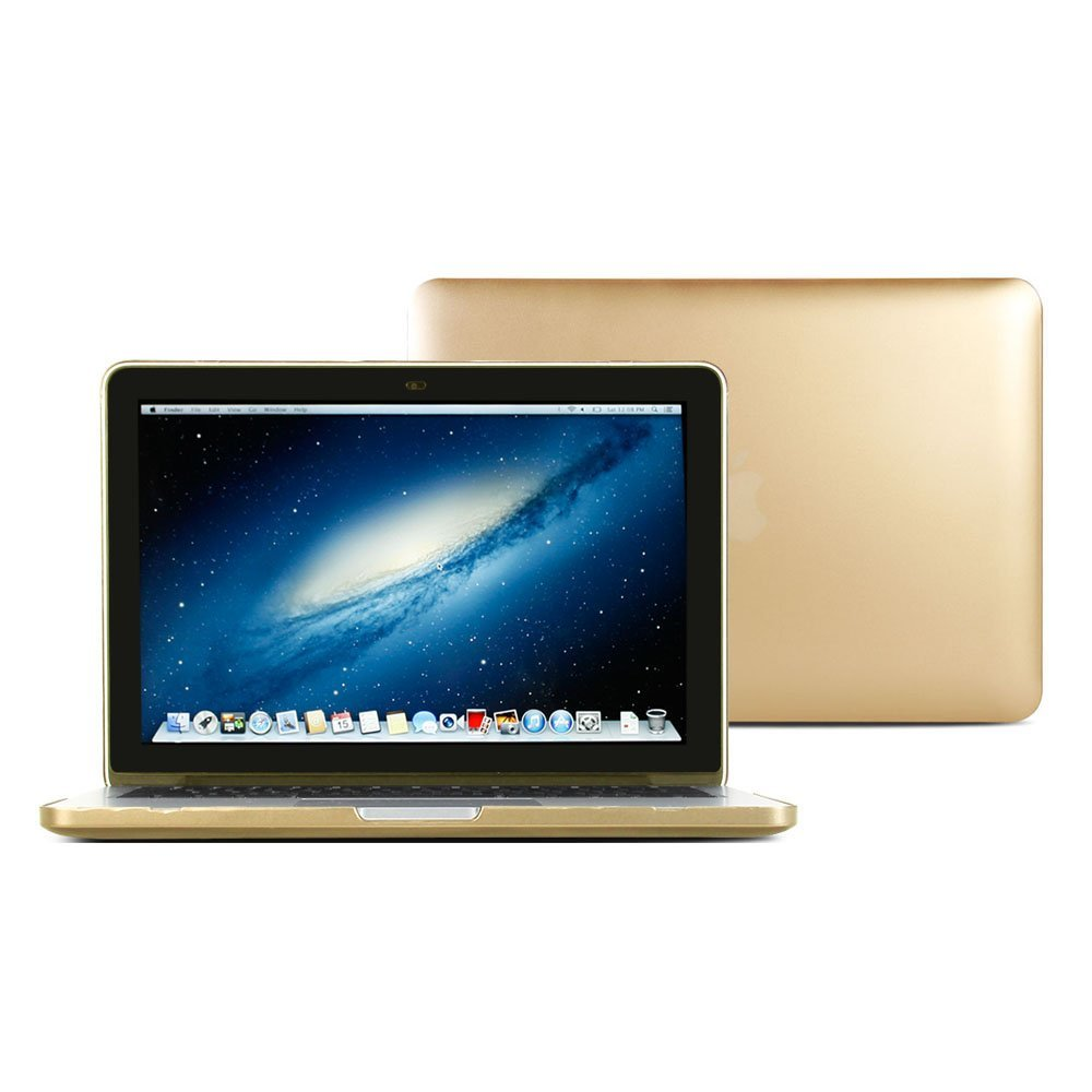 Macbook Pro Retina 13 Case, GMYLE Hard Case Metallic Color for Macbook Pro Retina 13 inch (Model: A1425 and A1502) - Metallic Champagne Gold Polycarbonate Cover (Not Fit For Macbook Pro 13)