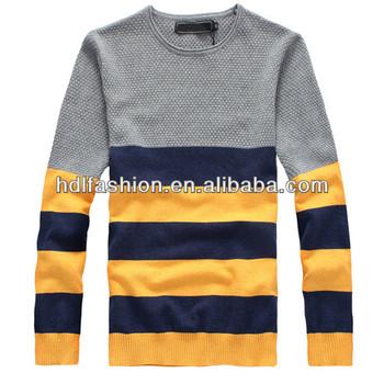 Top Sale Mens Jumper Black Yellow Striped Sweater Buy Black Yellow