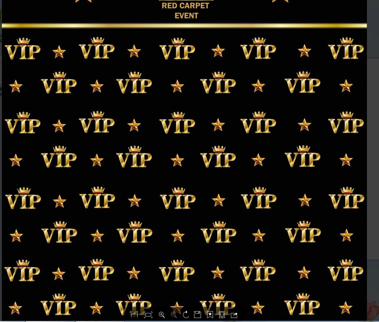 5X7FT gold crown event vip photo backdrop High-grade portrait cloth Computer printed party black Background dd-yz74136