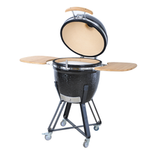 21 ''Custom Made Ghisa BARBECUE Grill <span class=keywords><strong>Grande</strong></span> <span class=keywords><strong>Uovo</strong></span> <span class=keywords><strong>Verde</strong></span> Fumatore