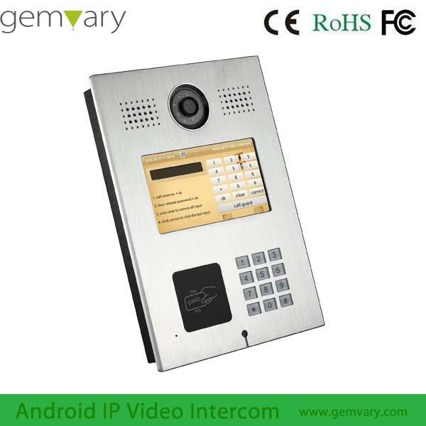 Gemvary Multi Apartment Outdoor Doorbell Video Camera Intercom Product On