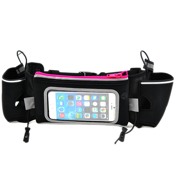 Initiative Outdoor Running Belt Waist Pack Water Resistant Waist Bag Mobile Phone Men Women With Hidden Pouch Gym Bags Relojes Y Joyas