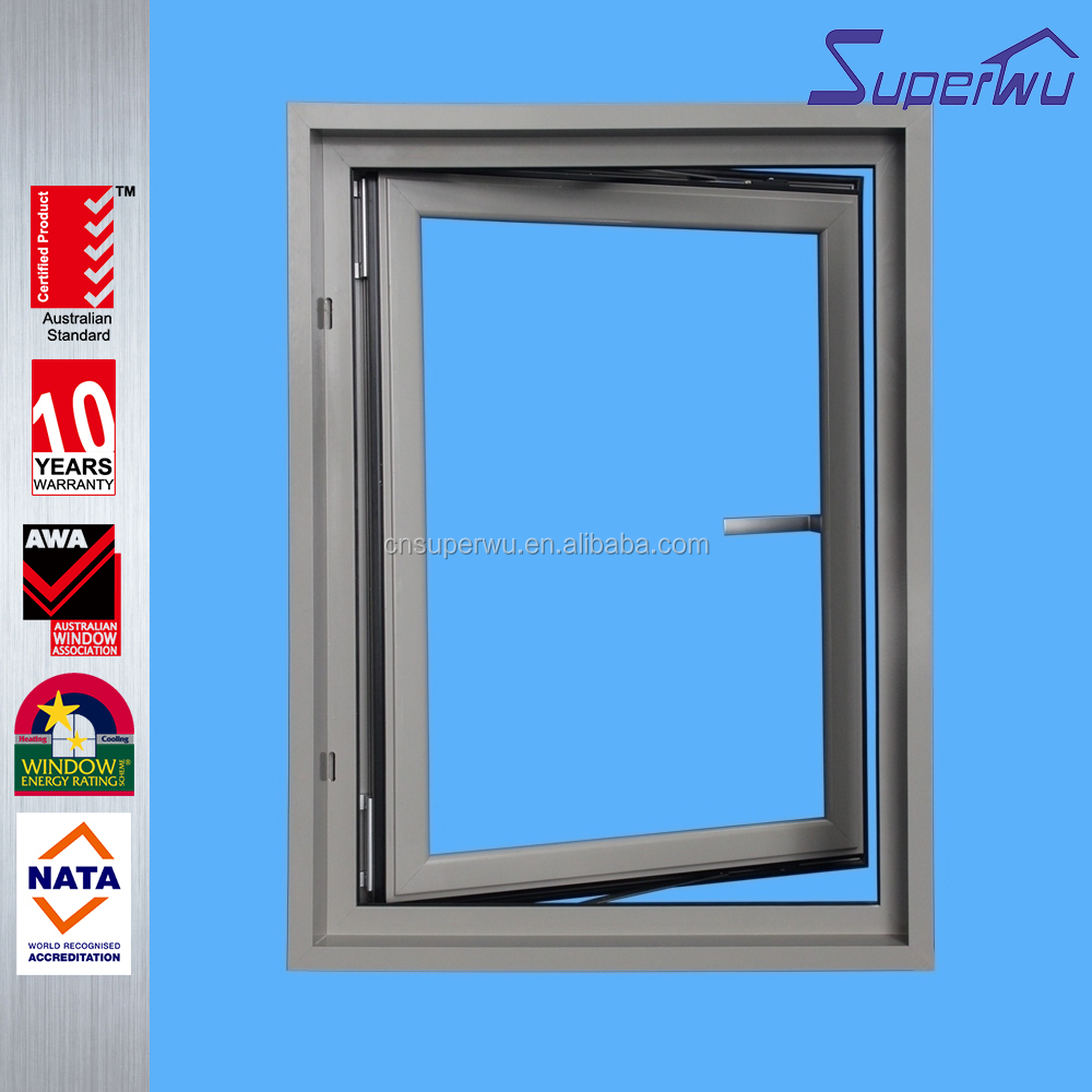 Classical marble awning window frame with screen frame window