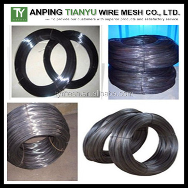 16 Gauge Black Annealed Tie Wire For Construction Binding Wire ...