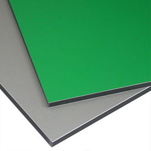 high quality fireproof outside aluminum composite panel / acp/acm honeycomb