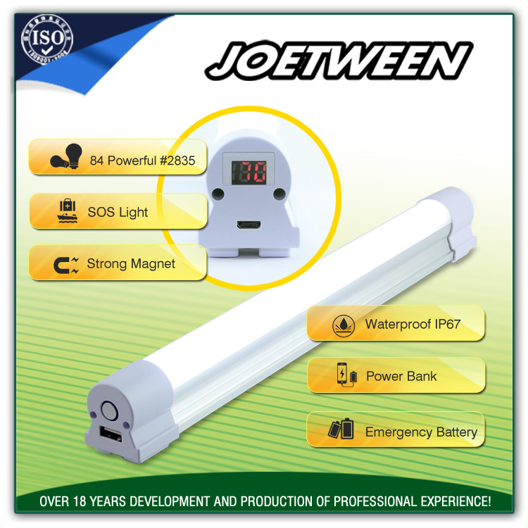 Rechargeable Battery Operated Led Light Bar Home Wall Emergency