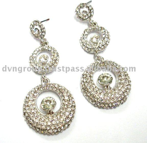 Wedding Earring,Indian Traditional Earring,Chandelier Earring,Long ...