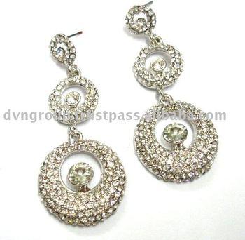 Wedding Earring Indian Traditional Chandelier Long Designer