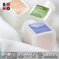 150ml transparent plastic body lotion personal care hotel set