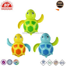 New Design babies swim turtle small animal bath toy for 2 year old