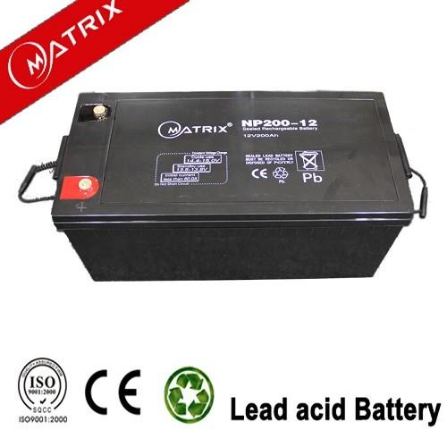 Shenzhen Matrix Beste Tiefzyklus Sonnenkollektor Gel Batterie 12V100Ah Für Solar System Energiespeicher Batterie Europäische Batterie