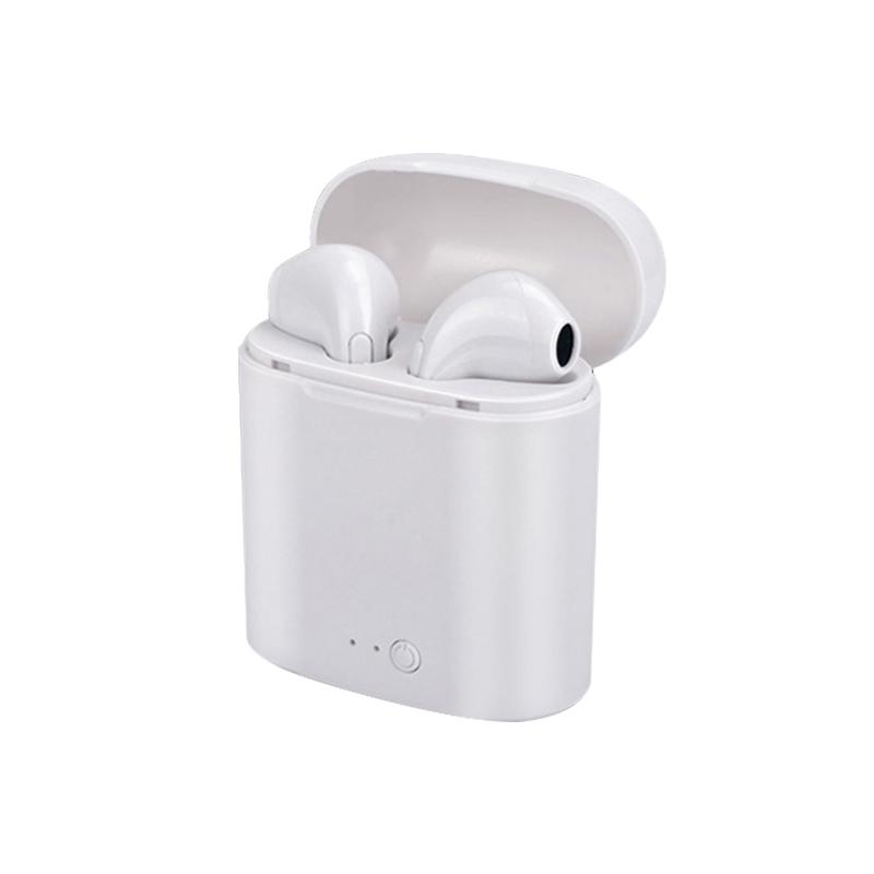 2019 True Wireless earphone Stereo Sweatproof In-Ear Sport blue tooth earphone i7s tws earbud For Celulares wireless earphone, Black/white/gold/rose gold