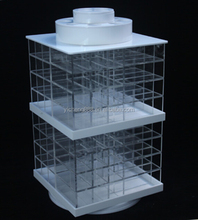 <span class=keywords><strong>Make</strong></span> up Acrilico Rotante Supporto Rossetto Display Stand