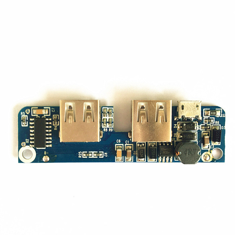 Low price mobile phone double USB charger <strong>PCB</strong> manufacture