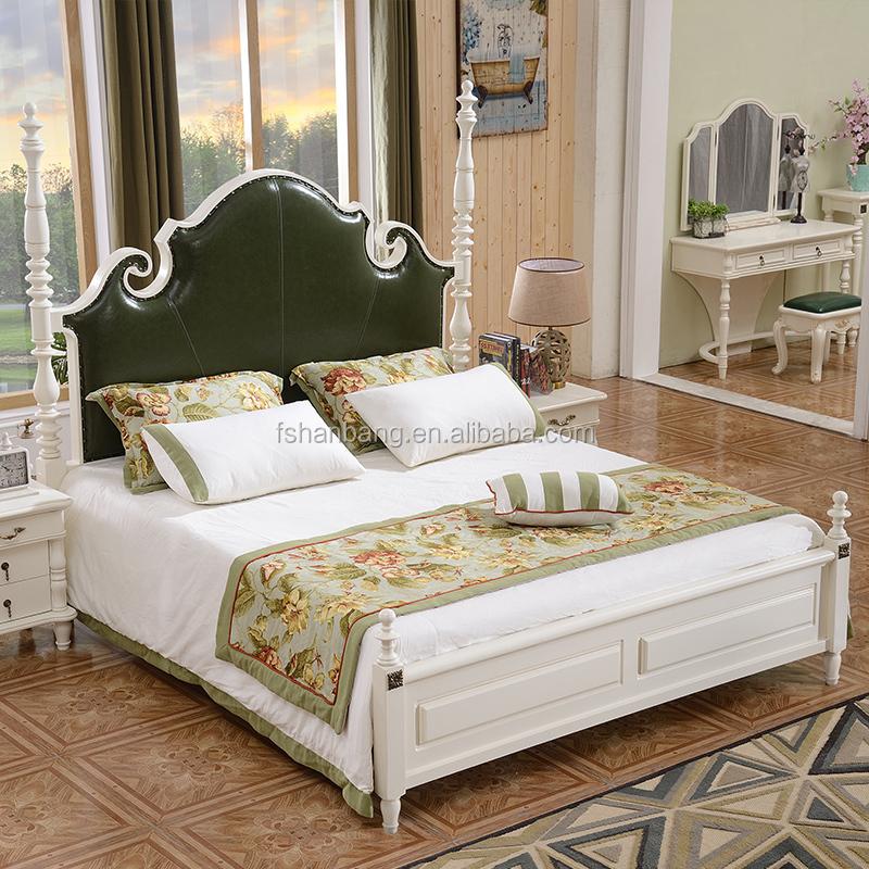 การออกแบบที่ทันสมัย MDF ไม้เตียงหนังสีฟ้า HeadBoard สำหรับ Home