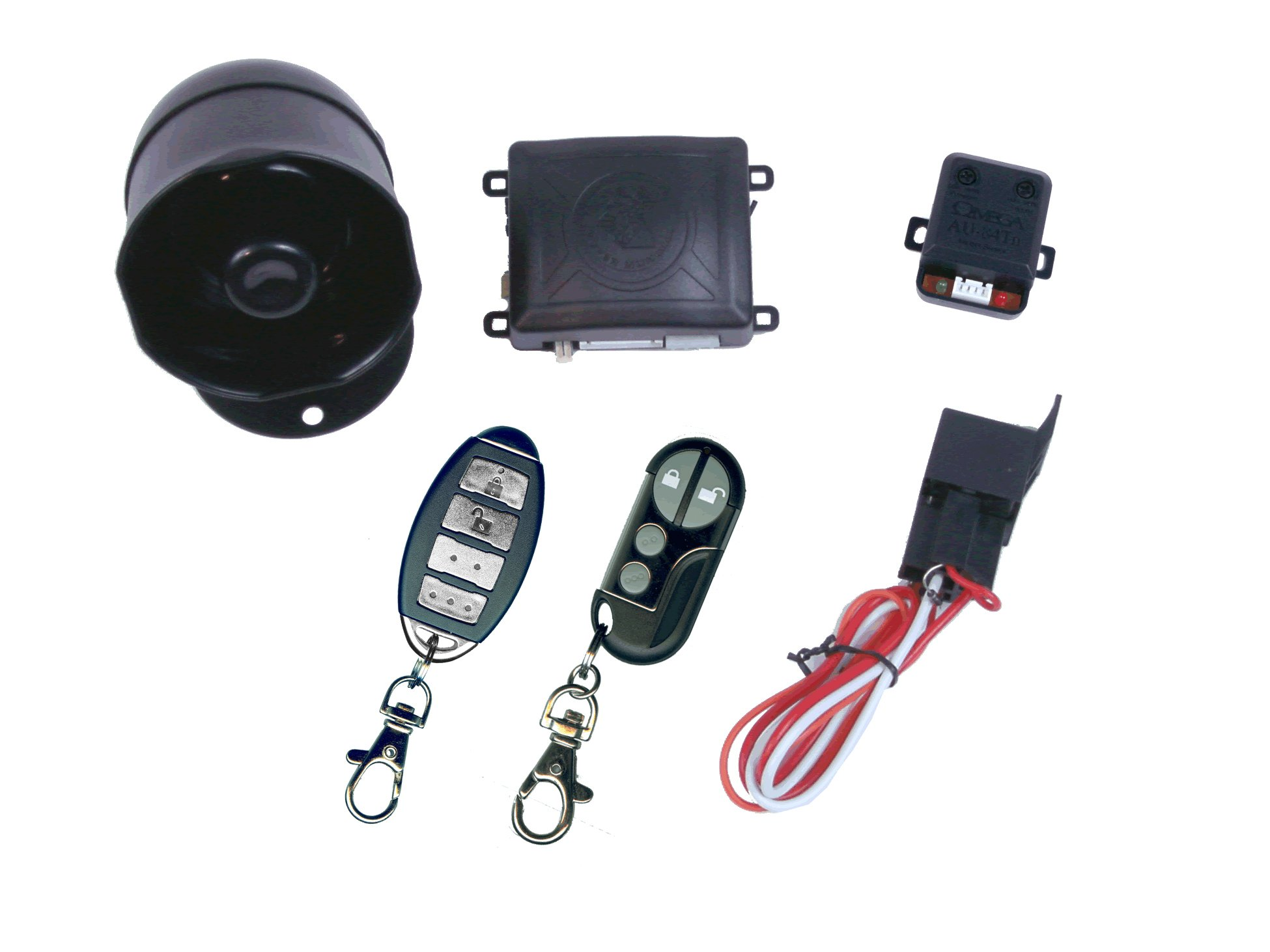 Get Quotations · K9 MUNDIALSSX 1-Way Car Alarm Security System with 16  Programmable Features
