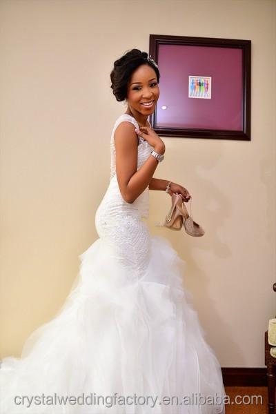 Sexy Afrikanische Weiß Schatz-nixe Hochzeitskleider 2016 Gericht Zug ...