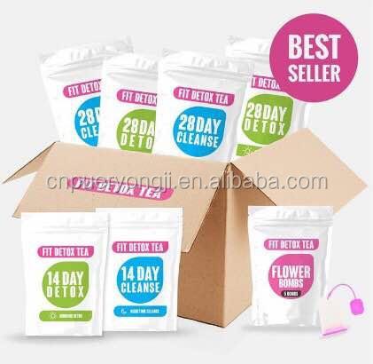OEM Special Design Private Label Quick Slim Tea 28 Day Detox